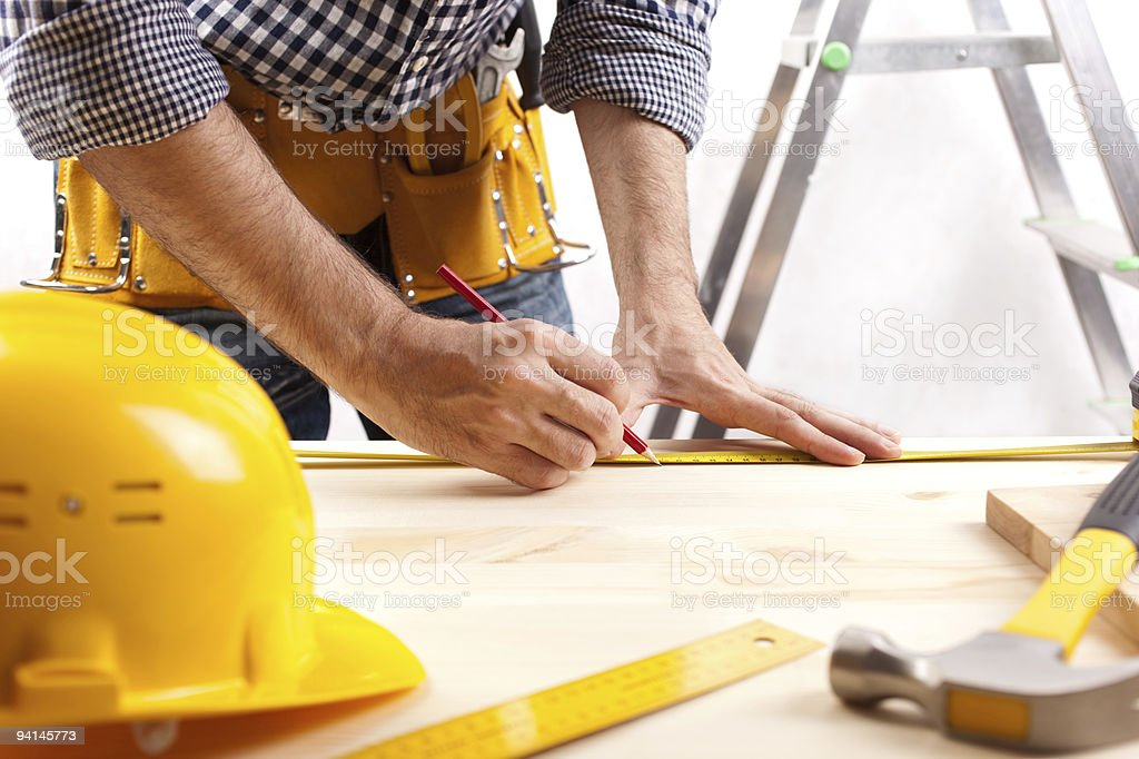 construction layout stock photo