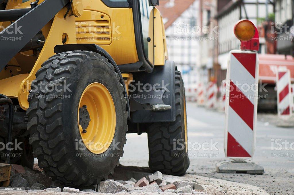 construction machine royalty-free stock photo