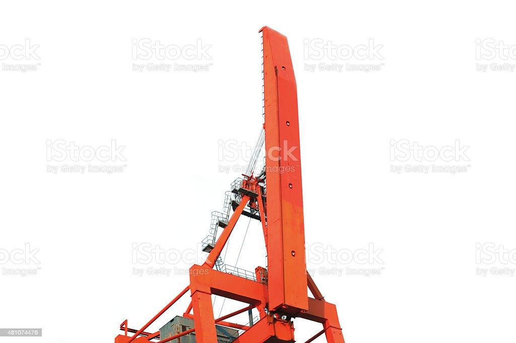 Construction machine stock photo