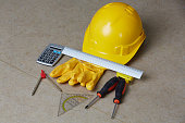 Construction manager work tools