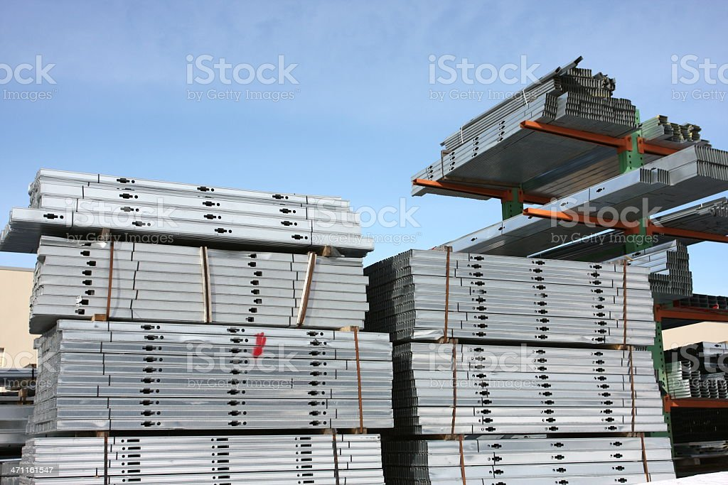 Construction Material royalty-free stock photo