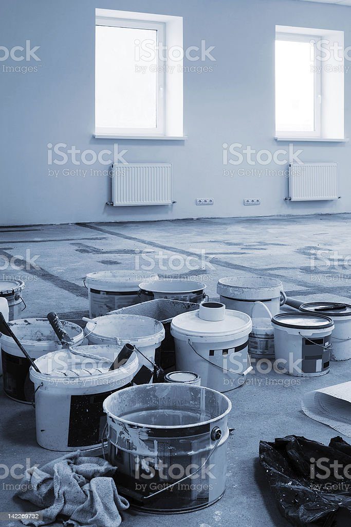 construction modern office royalty-free stock photo