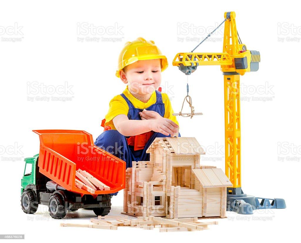 Construction Now stock photo