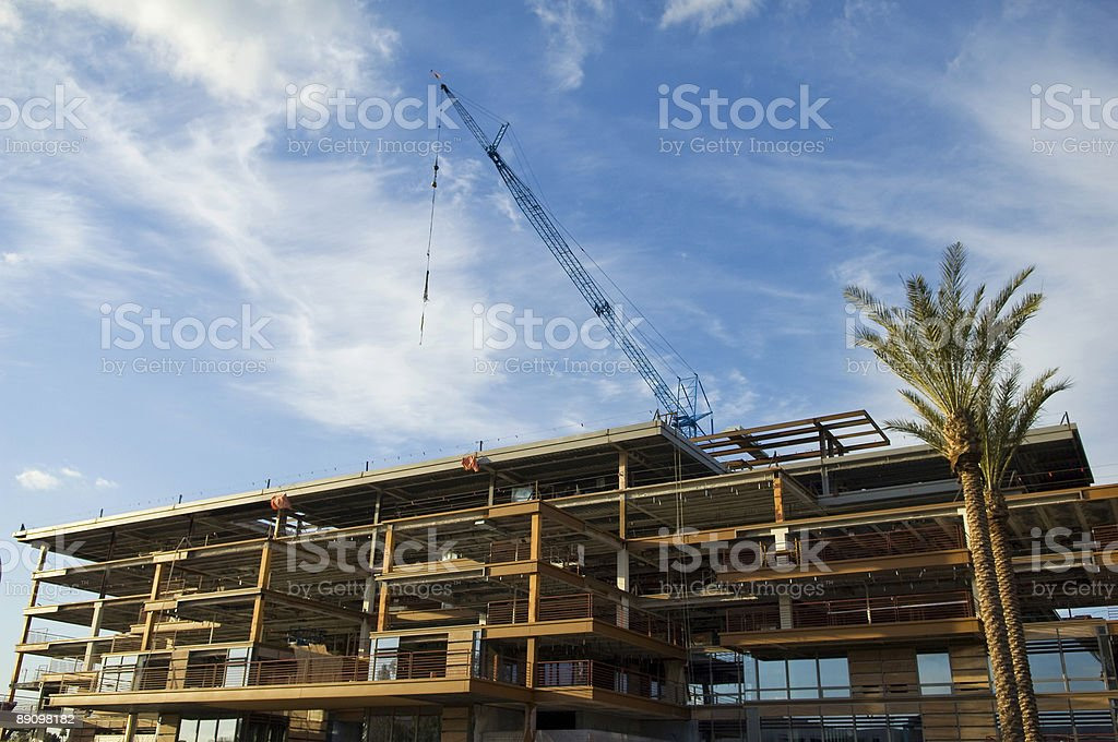 Construction of a Building royalty-free stock photo