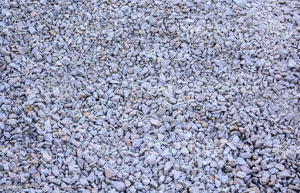 Construction of gravel royalty-free stock photo