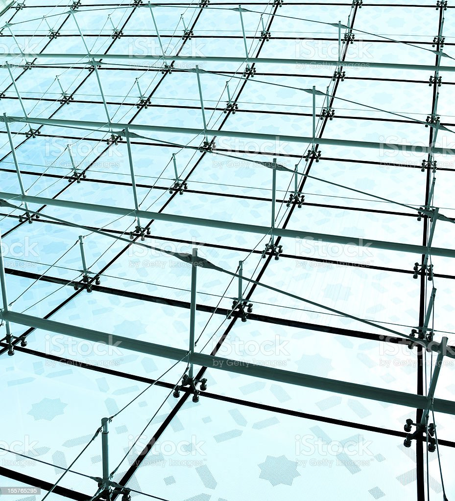 Construction of modern buildings royalty-free stock photo