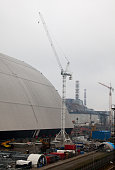Construction of New Safe Confinement at Chernobyl
