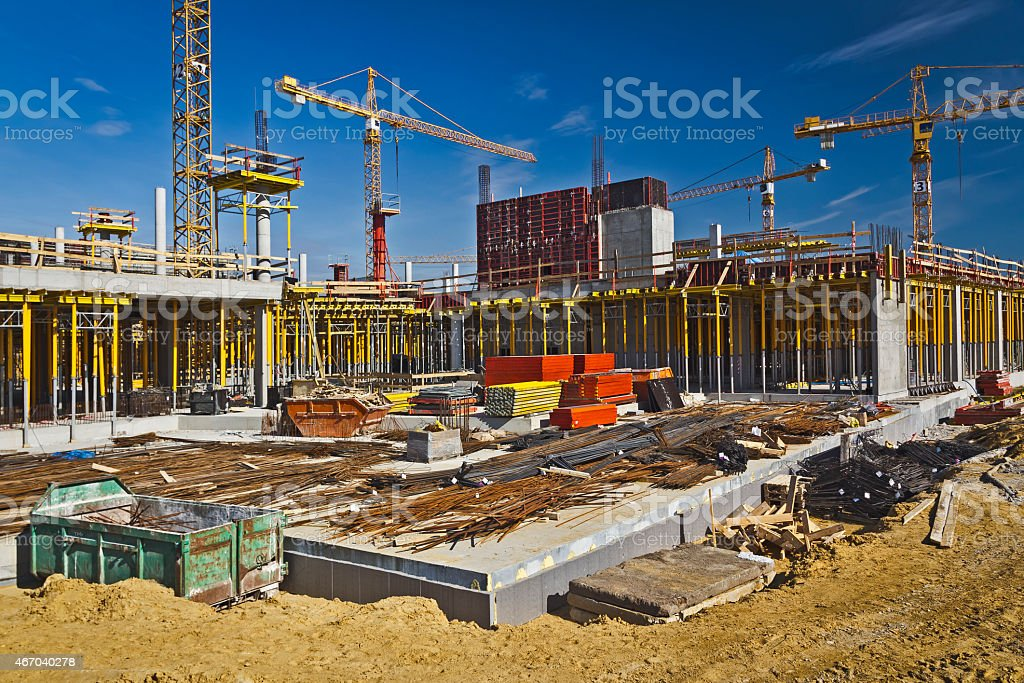 Construction - On Site stock photo