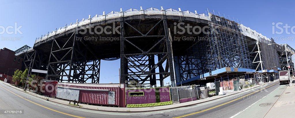 EL Construction Panorama royalty-free stock photo