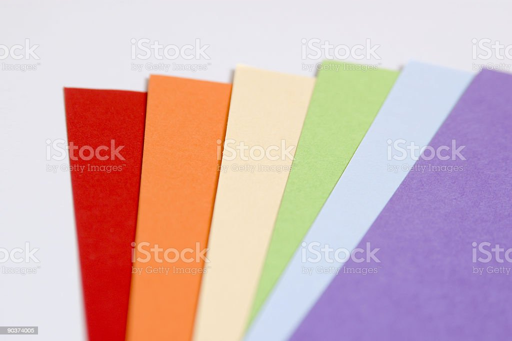 Construction Paper stock photo