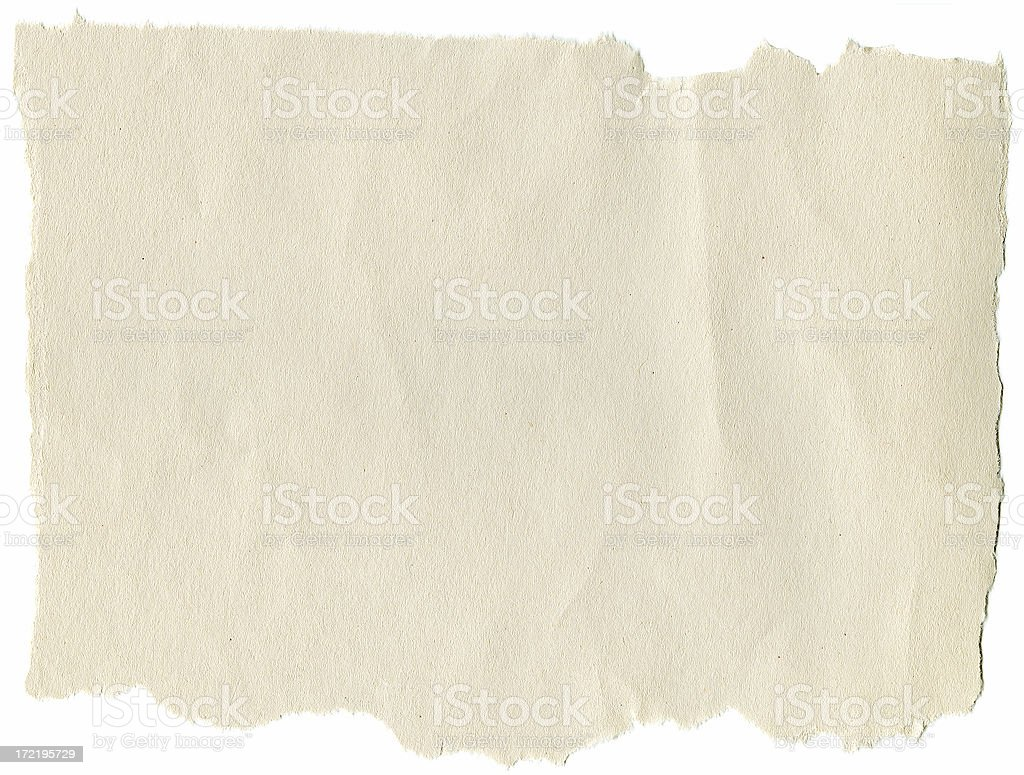 Construction Paper with Torn Edges stock photo