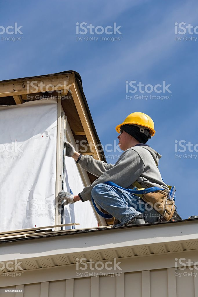 construction people stock photo