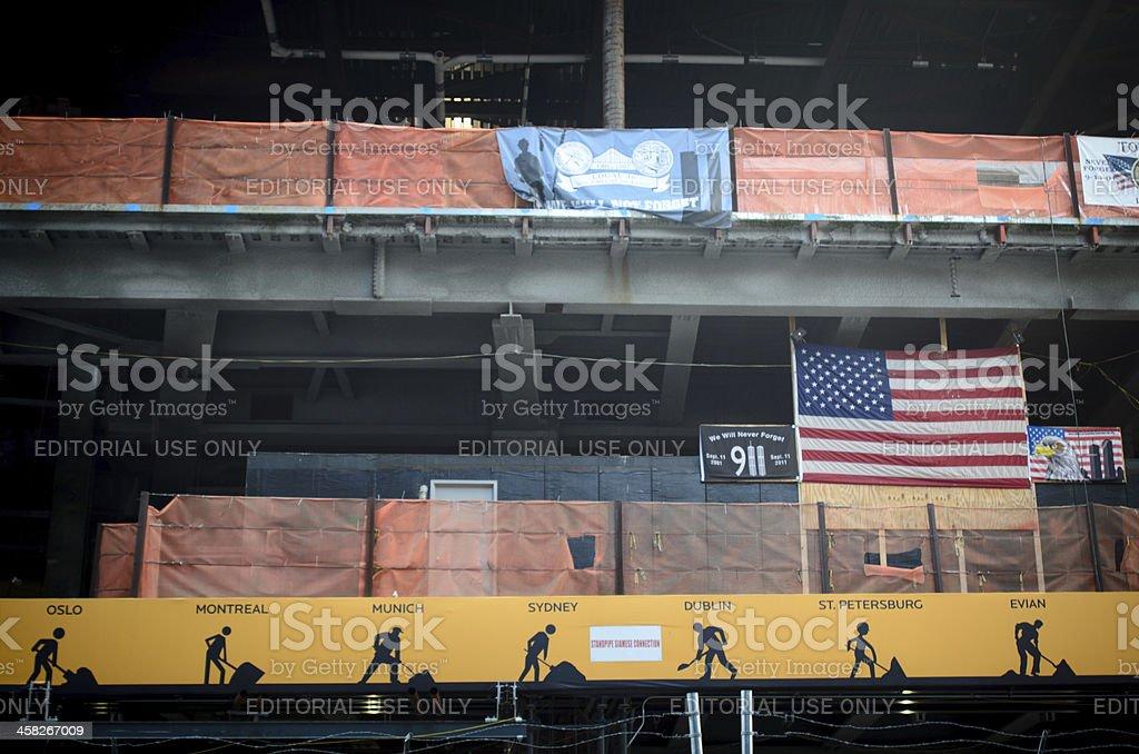 911 Construction royalty-free stock photo