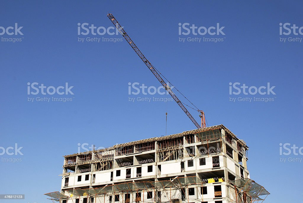 Construction (Click for more) royalty-free stock photo