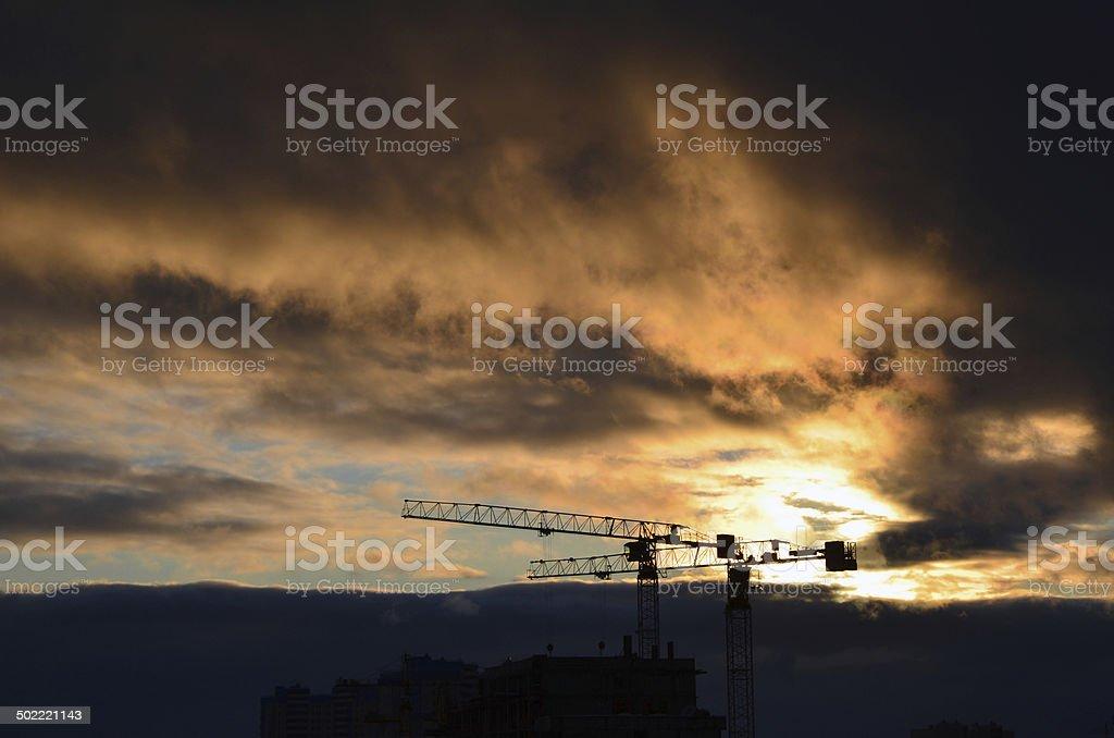 A construção foto de stock royalty-free