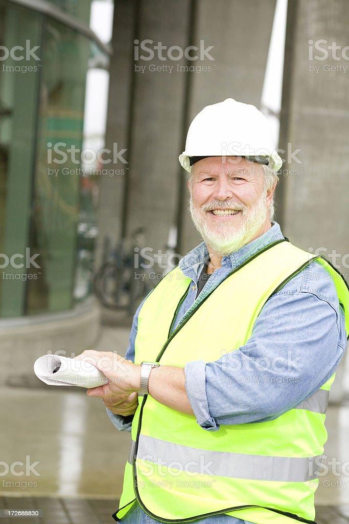 construction portraits royalty-free stock photo