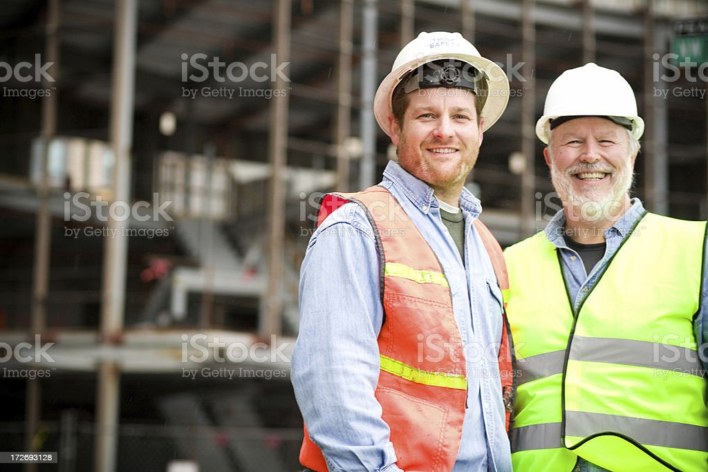construction portraits royalty-free stock photo