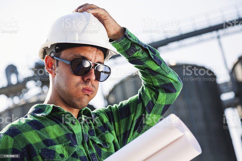 Construction problem royalty-free stock photo