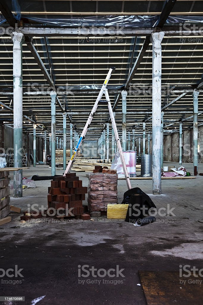 Construction project. royalty-free stock photo
