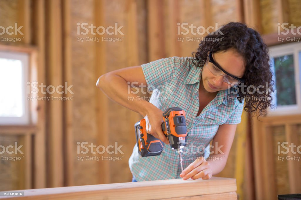 Construction Remodel stock photo