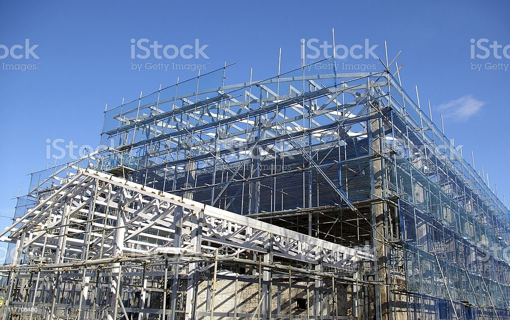 Construction -repair building royalty-free stock photo