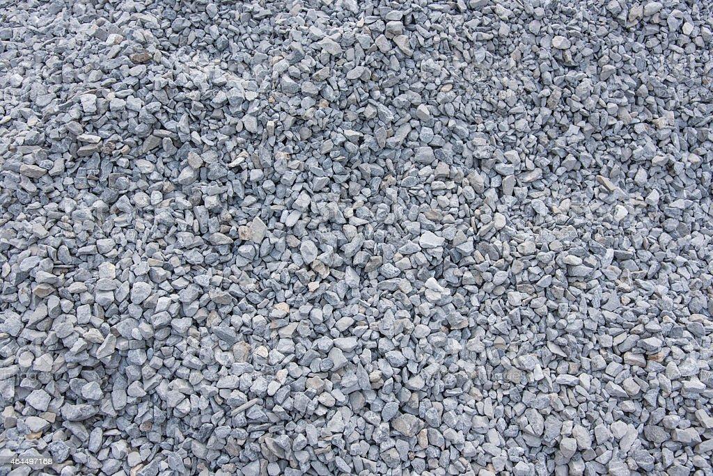 Construction rock stock photo
