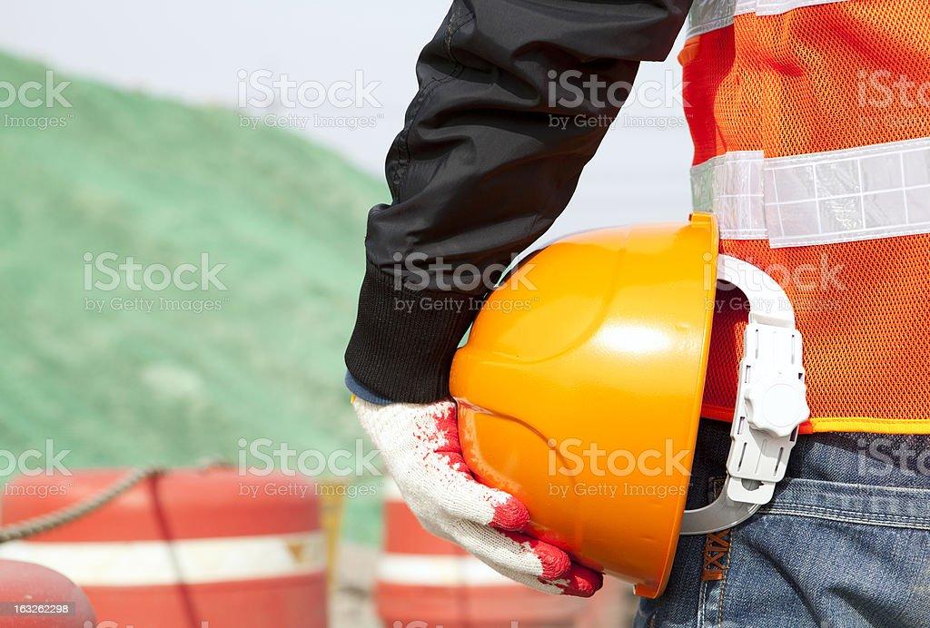 Konstruktion Sicherheit Lizenzfreies stock-foto