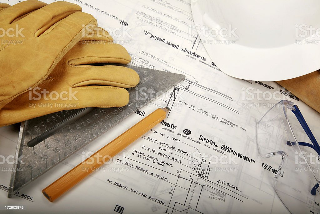 Construction Series stock photo