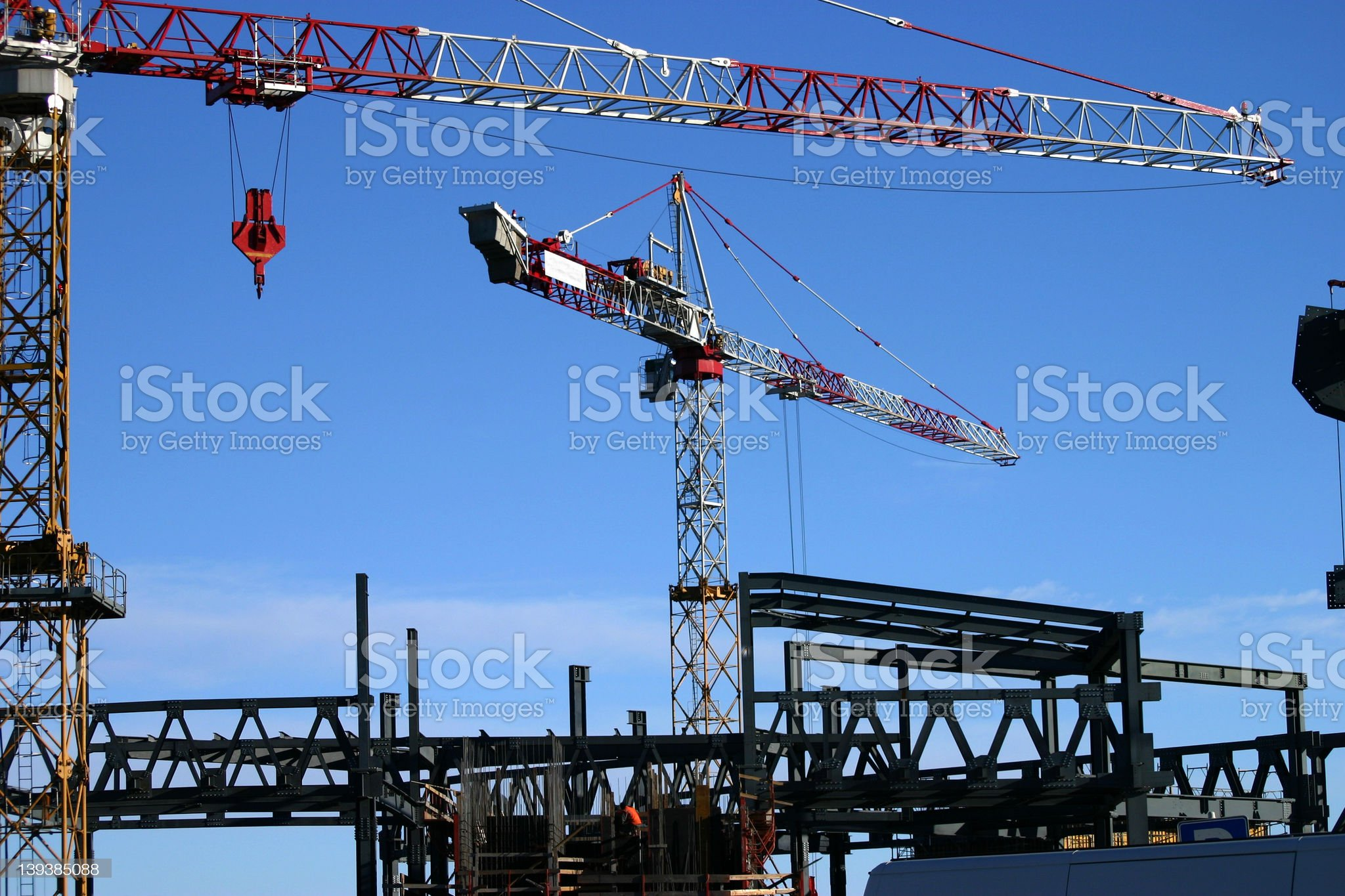 construction site 2 royalty-free stock photo