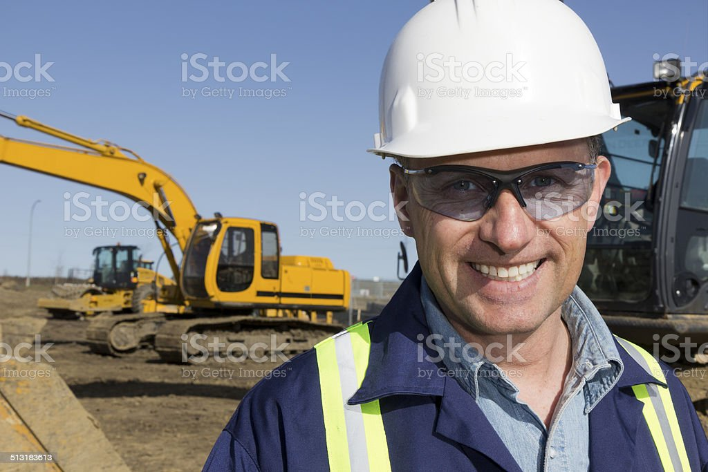 Construction Site Contractor stock photo