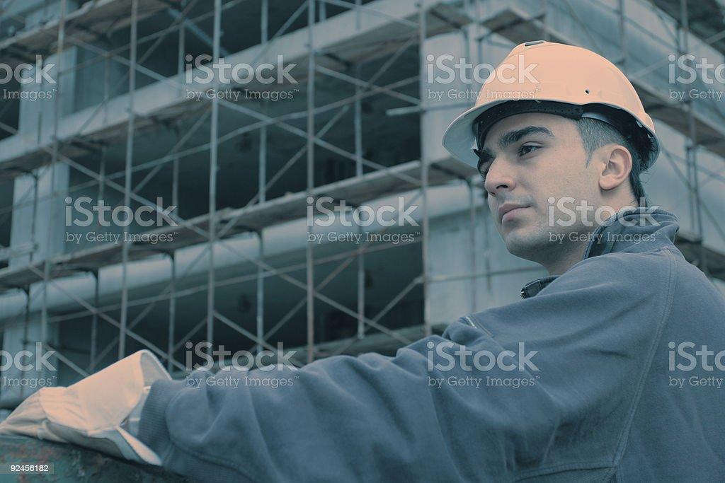 Construction site fashion royalty-free stock photo