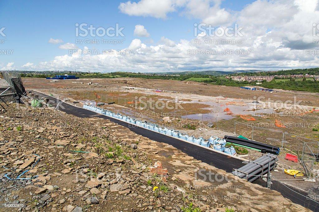 Construction Site - Housing Development stock photo