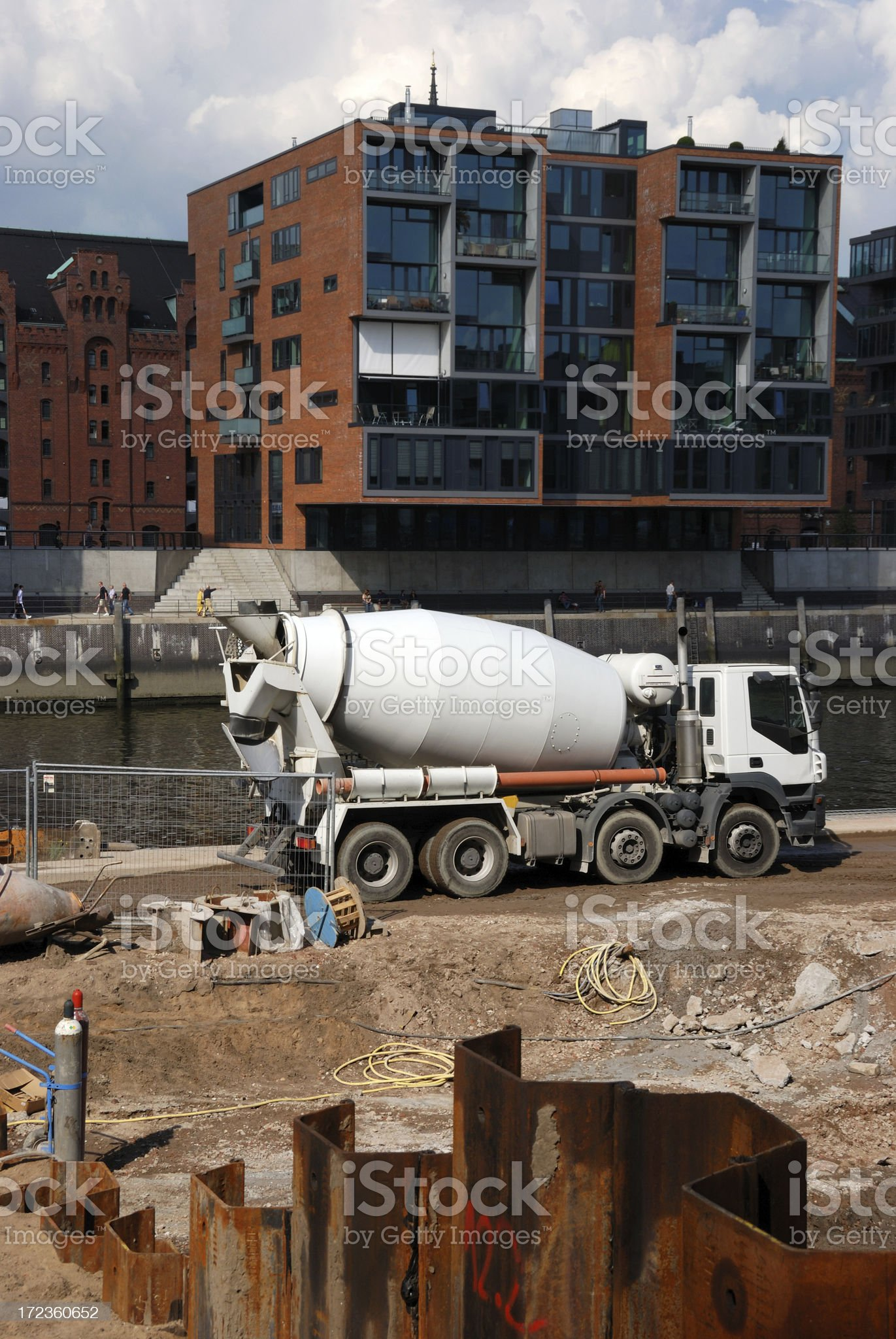 construction site modern royalty-free stock photo