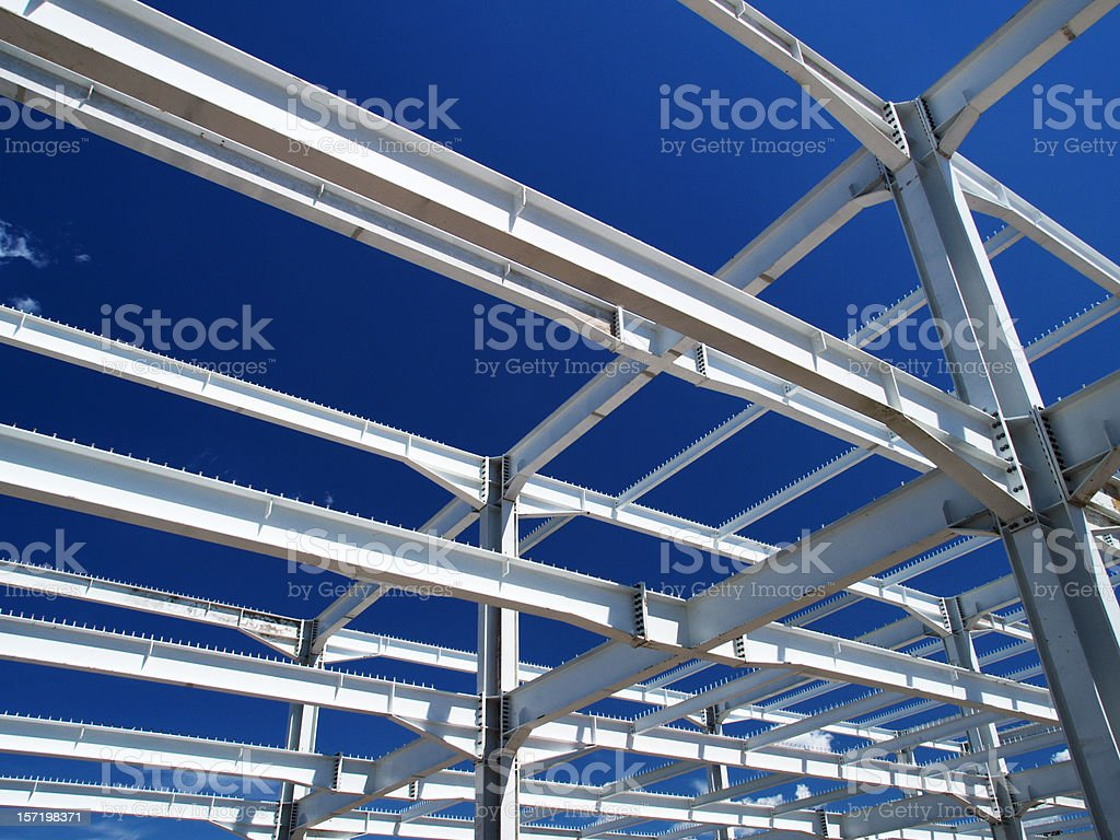 Construction site royalty-free stock photo