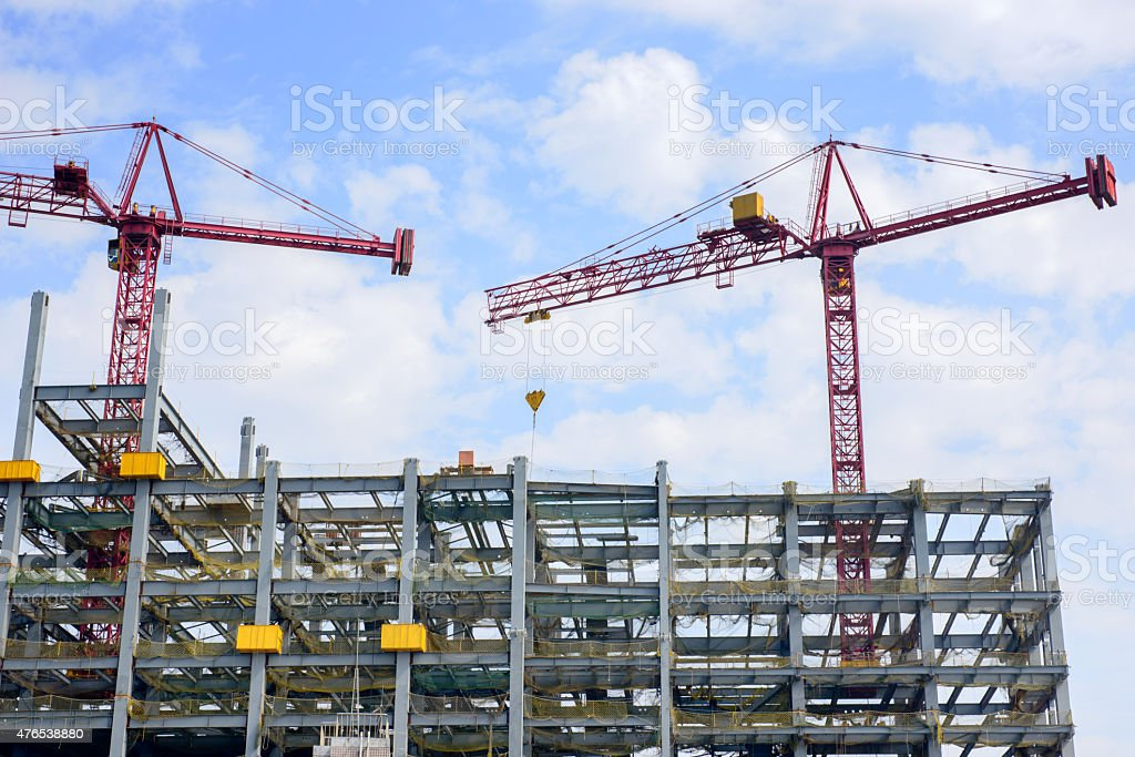 Construction site. stock photo