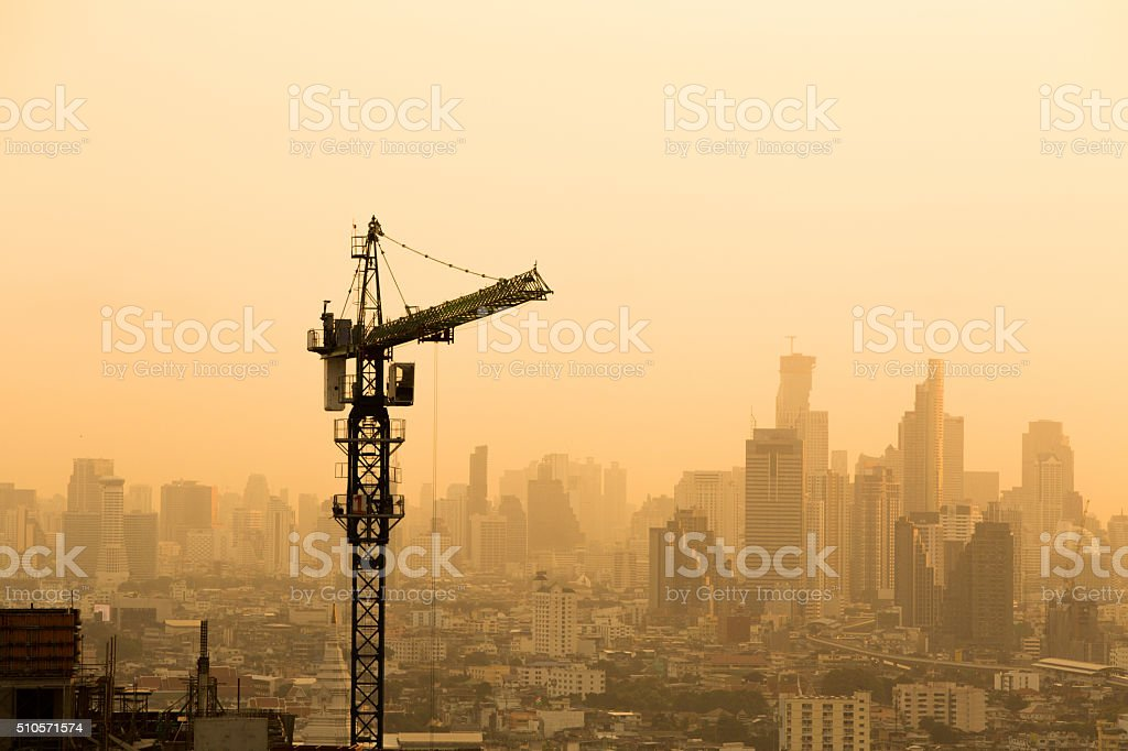 Construction site. stock photo