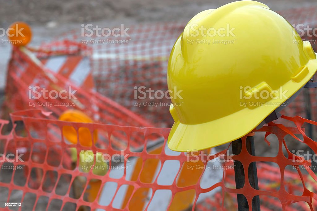 Construction Site #2 stock photo