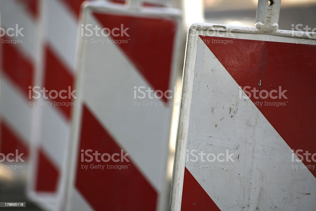 Construction site safety royalty-free stock photo