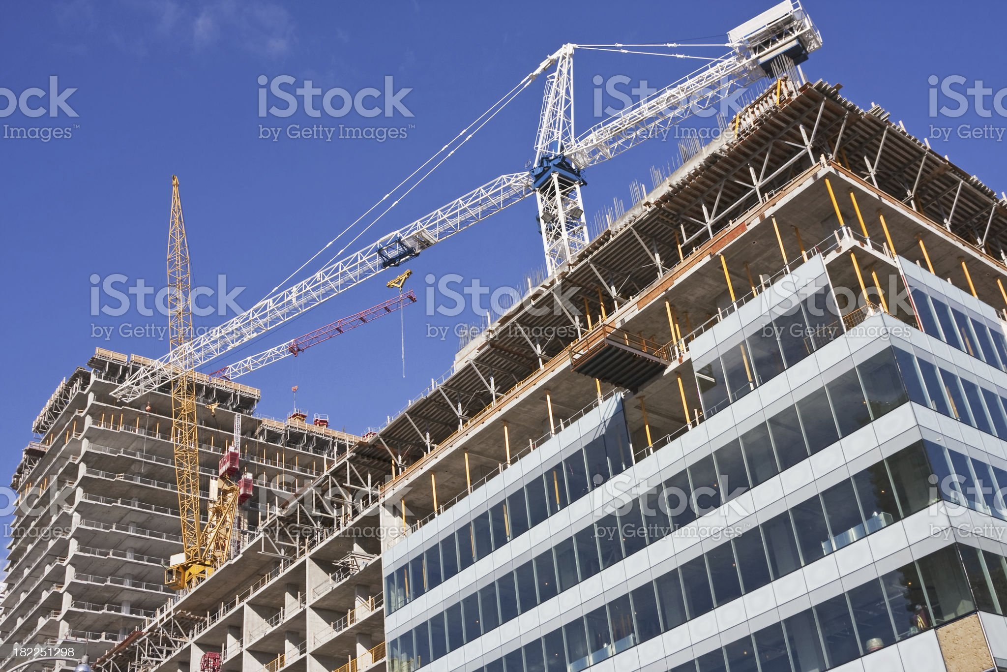 Construction site # 17 XL royalty-free stock photo