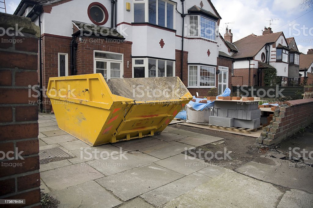 Construction Site/Home Extension-See lightbox below for similar royalty-free stock photo