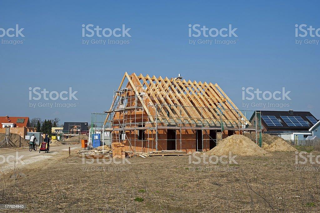 construction site,solar power stock photo