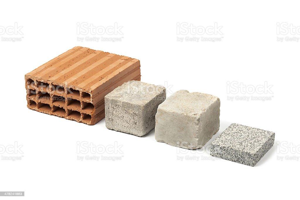 construction stones royalty-free stock photo