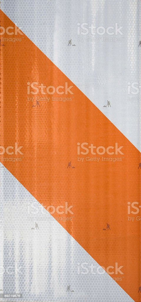 Construction Stripe royalty-free stock photo