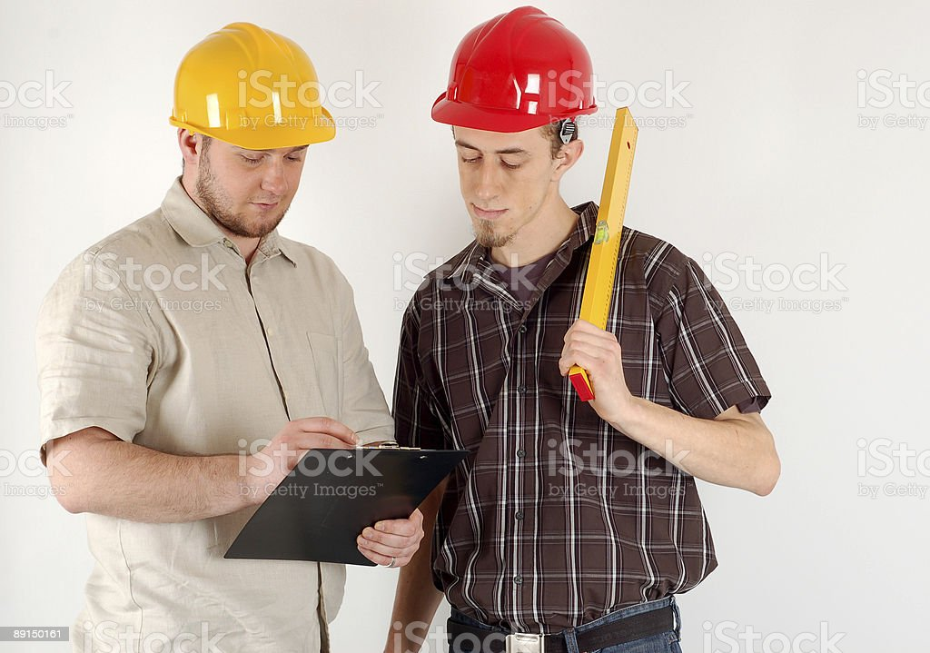 construction team royalty-free stock photo