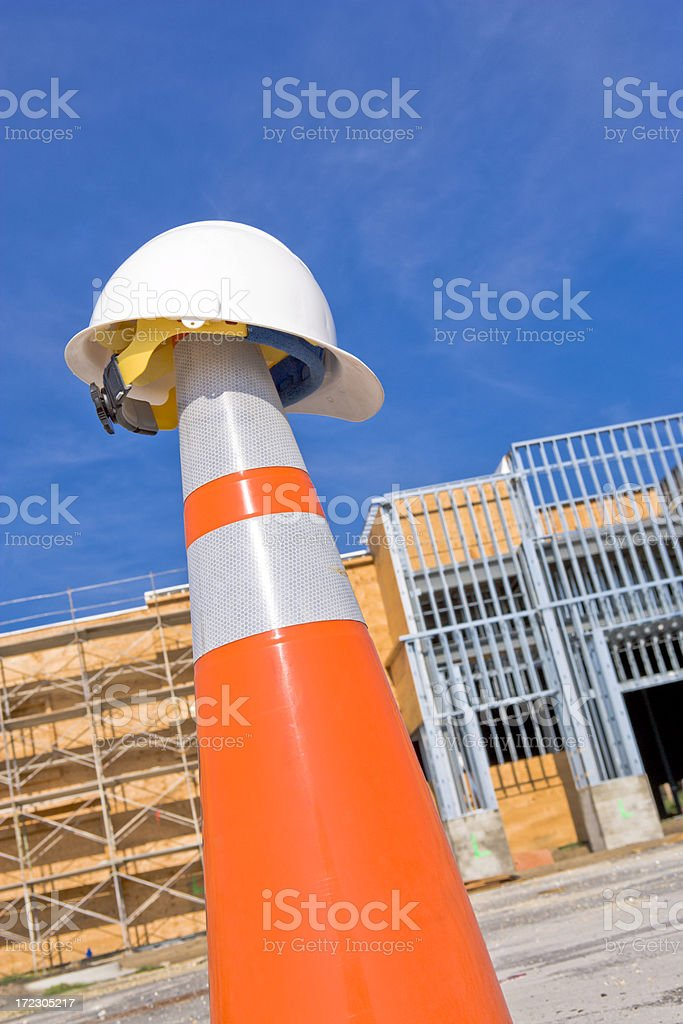 Construction Time royalty-free stock photo