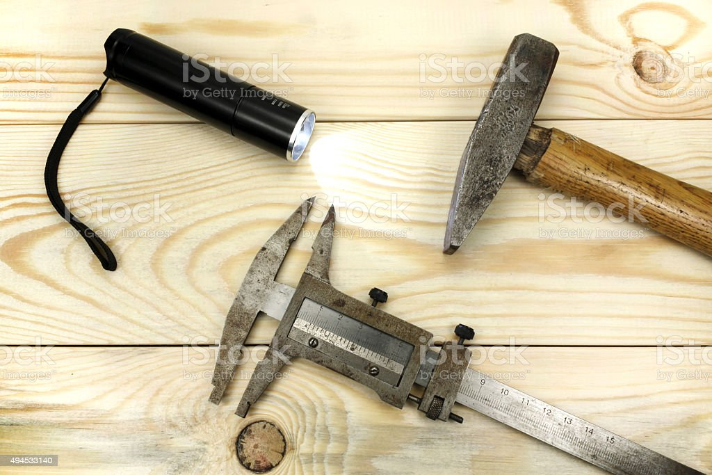 Construction tool stock photo