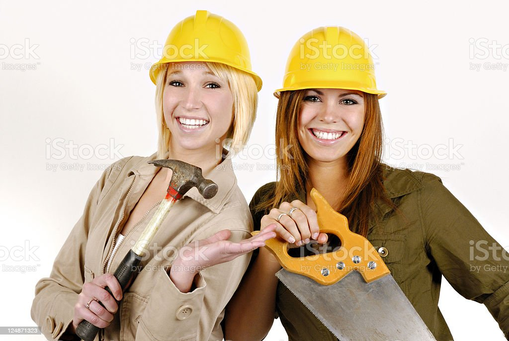 Construction:  Tool Time stock photo