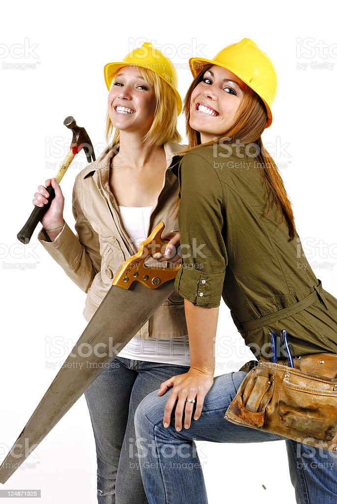 Construction: Tool Time royalty-free stock photo