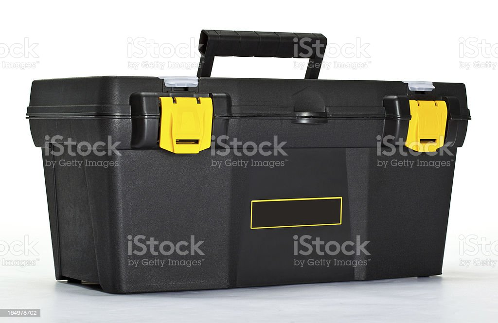Construction toolbox royalty-free stock photo