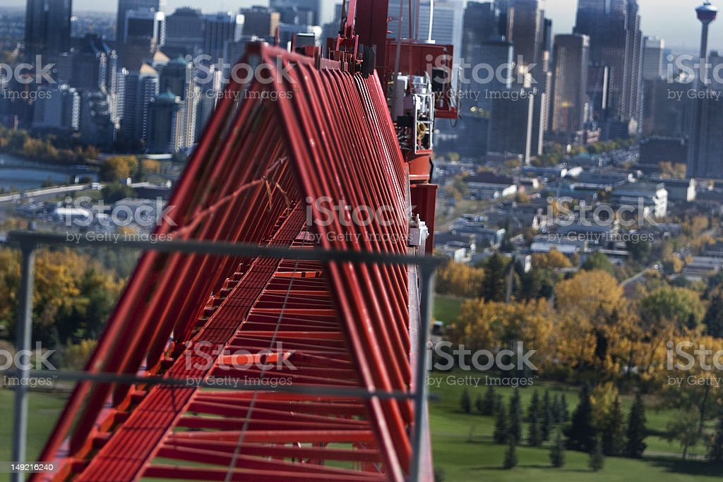 Construction Tower royalty-free stock photo